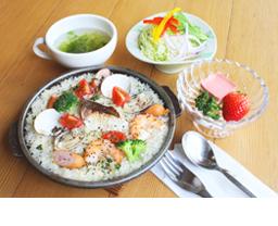 鯛と蛤の海鮮チーズリゾット
