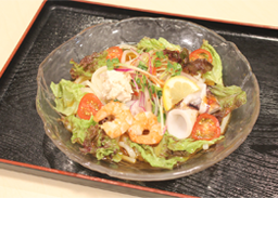 C.海鮮サラダうどん