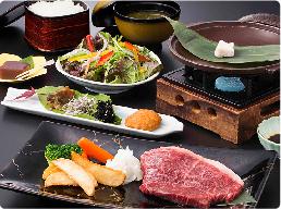 松阪牛ステーキ膳(モモ肉100g)