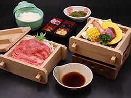 松阪牛せいろ蒸し(50g)