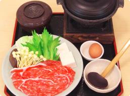 松阪牛すき焼き定食