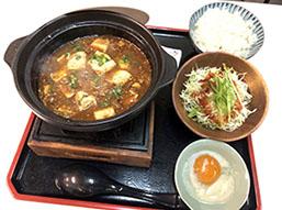 B.旨辛麻婆豆腐セット