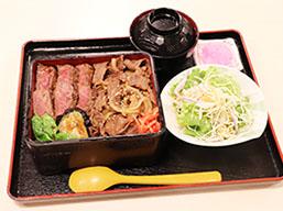 松阪牛食べ比べ重