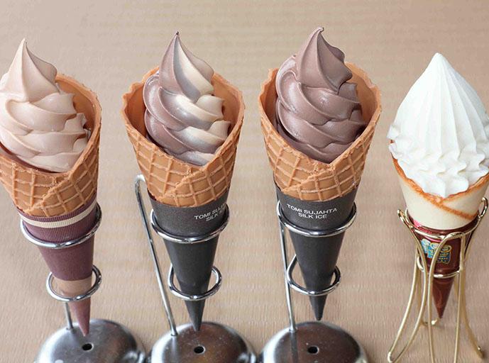 和三盆ソフトクリーム